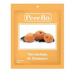 Mermelada Damasco 250 Gr Perello