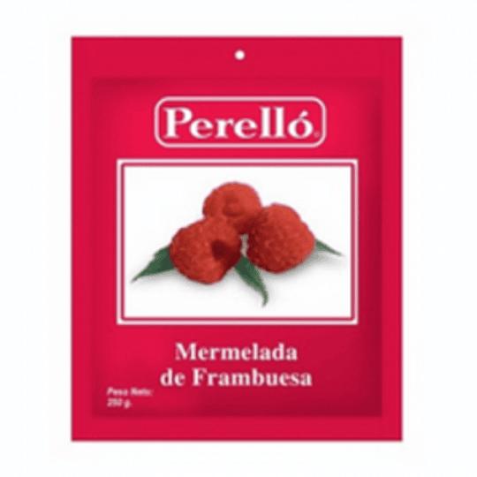 Mermelada Frambuesa 250 Gr Perello