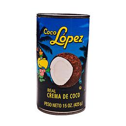 Crema De Coco 425 Gr Lopez