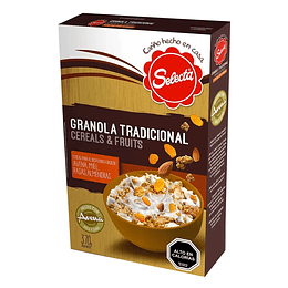 Granola Tradicional 370 Gr Selecta