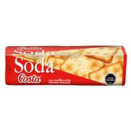 Galleta Soda Unidad 180 Gr Costa