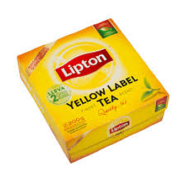 Te Yellow 100 Bols Lipton