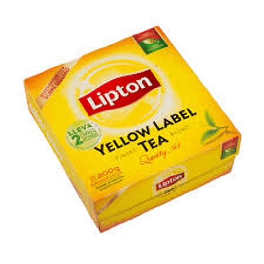 Te Yellow 100 Bols Lipton