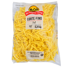 Papas Pref. Fast Food Corte Fino 7 Mm Mccain Bolsa 2,25 Kg