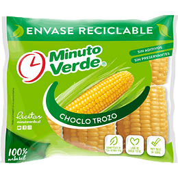 Choclo Trozo 1 Kg Minuto Verde