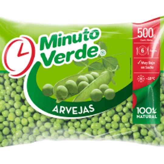 Arvejas Iqf 500 Gr Minuto Verde