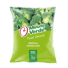 Brocoli Iqf 1 Kg Minuto Verde
