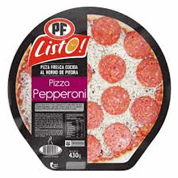 Pizza de Pepperoni 430 Gr PF