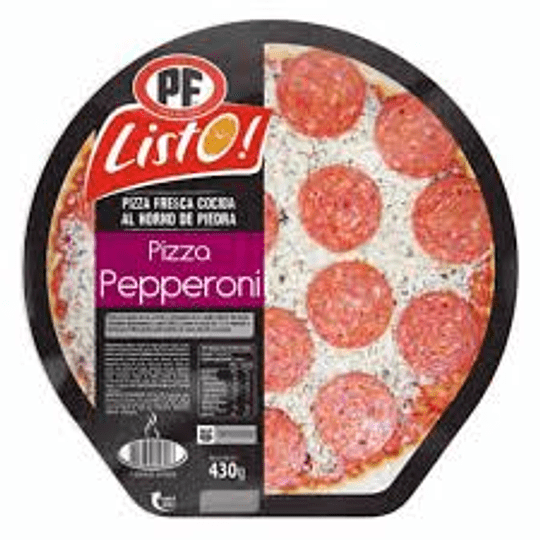 Pizza de Pepperoni 430 Gr PF