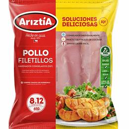 Filetillo de Pollo 650 Gr Ariztia
