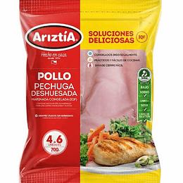 Pechuga de Pollo Deshuesada 700 Gr Ariztia