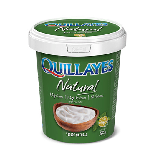 Yoghurt Natural 800 Gr Quillayes