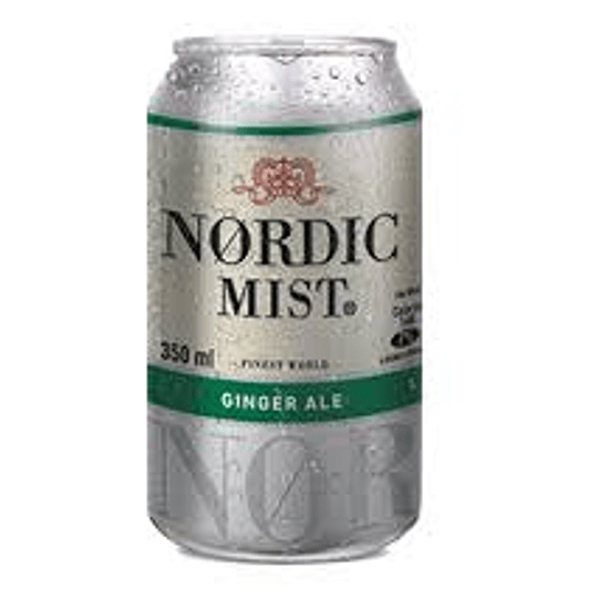 Ginger Ale Nordic Lata 350 Ml Pack 6 Unidades