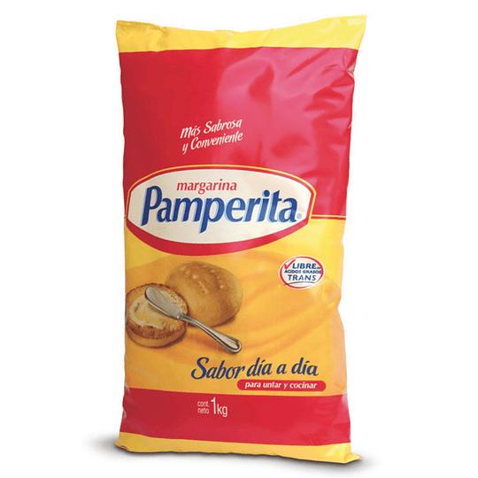 Margarina Con Sal 1 Kg Pamperita