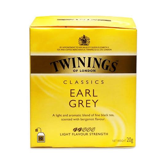 Te Earl Grey Caja de 10 Bolsitas Twinings
