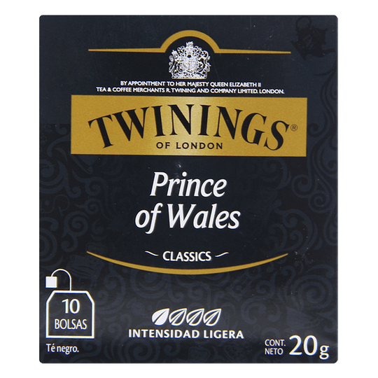 Te Prince Of Wales 10 Bols Twinings