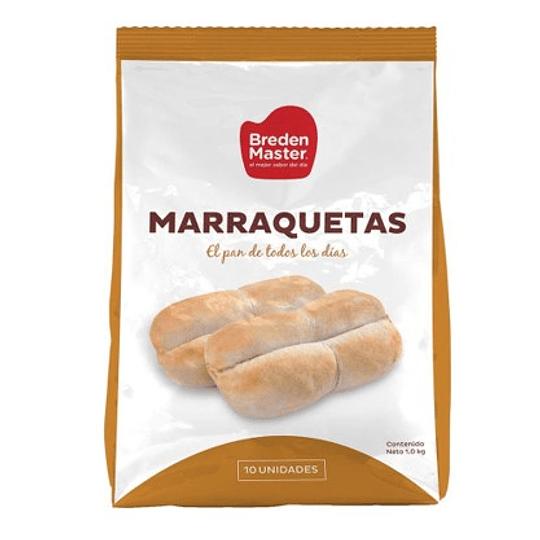 Pan Marraquetas Congeladas Bolsa 10 Unidades Breden Master