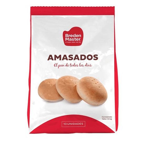 Pan Amasado Congelado Bolsa 10 Unidades Breden Master