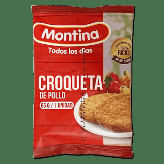 Pollo Croquetas 65 grs Und.