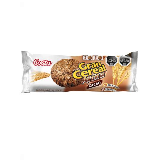 Galleton Gran Cereal Avena Cacao 185 Gr Costa