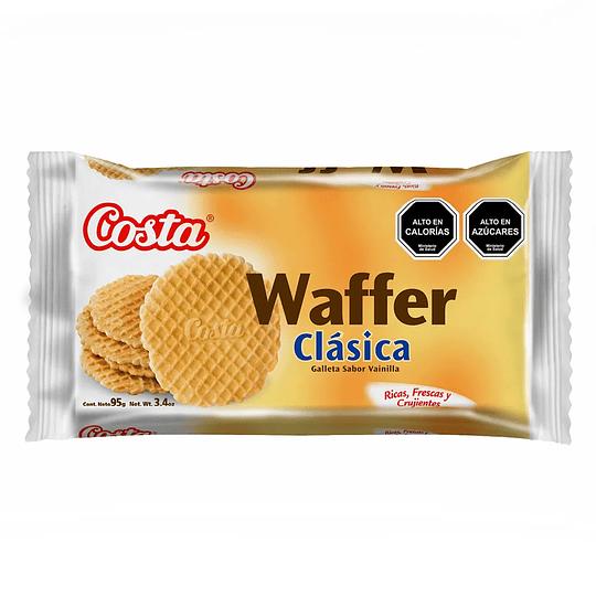 Galleta Waffer Clasica Unidad 95 Gr Costa