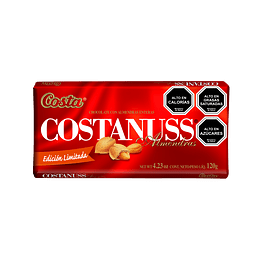 Chocolate Costanuss 160 Gr Costa