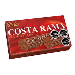 Chocolate Costa Rama 115 Gr Costa