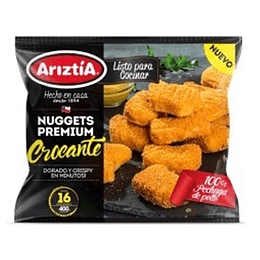 Nuggets de Pollo Crocante 400 Gr Ariztia