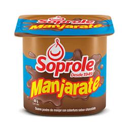 Manjarate Pack 4 Unidades 80 Gr Soprole (VENC 19-01-2021)