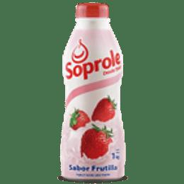 Yoghurt Batido Frutilla Botella 1 Lt Soprole