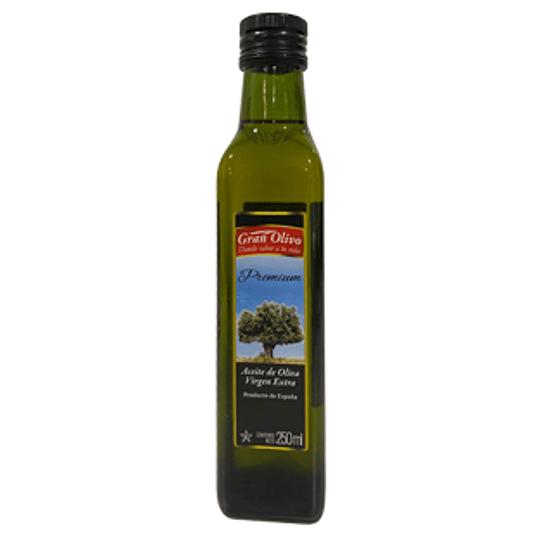 Aceite de Oliva Extra Virgen Botella 250 Cc Gran Olivo