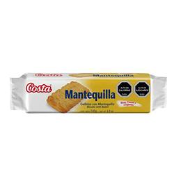 Galleta Mantequilla Unidad 140 Gr Costa