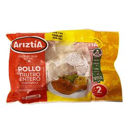 Pollo Trutro Entero Bolsa 2 Unidades Ariztia