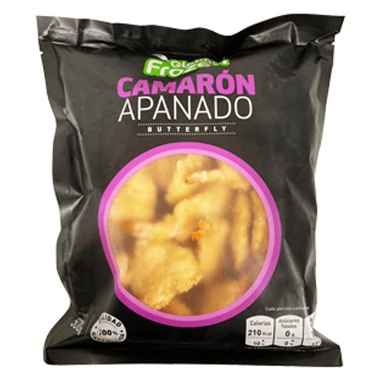 Camarones Apanados Calibre 31/35 Bolsa de 500 Gr