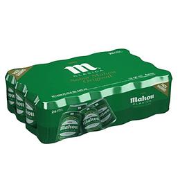 Cerveza Mahou Clasica Lata 330Cc Caja 24 Unidades