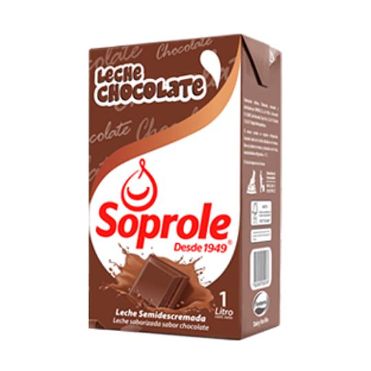Leche Sabor Chocolate 1 Lt Soprole