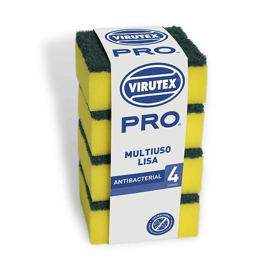 Esponja Lisa Pack 4 Unidades Virutex