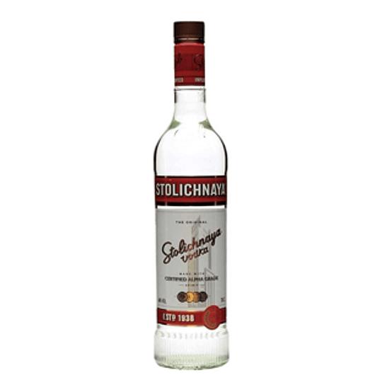 Vodka Stolichnaya Ruso 750 Cc