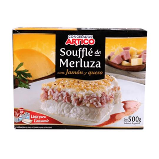 Souffle de Merluza con Jamon y Queso Unidad 500 Gr