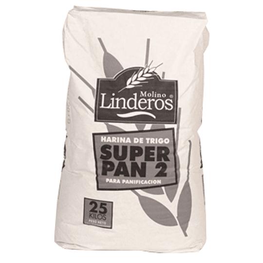 Harina Super Pan Dos Poli 25 Kg Linderos