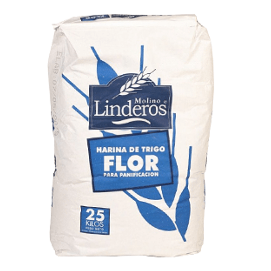 Harina Flor (2) Poli Saco 25 Kg Linderos