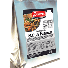 Base para salsa Blanca 1 Kg Gourmet