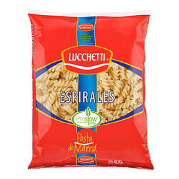 Pasta Espirales 400 Gr Lucchetti