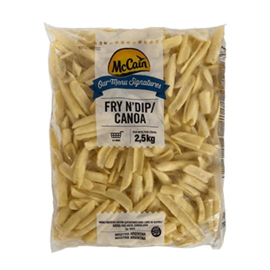Papas Prefritas Fry N Dip Bolsa de 2,5 Kg Mccain