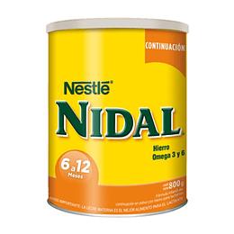 Nidal 2 de 6-12 Meses 800 Gr Nestle