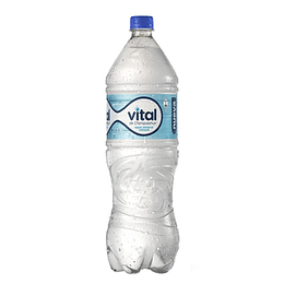 Agua Mineral Desechable C/Gas 1,6 Lt Vital