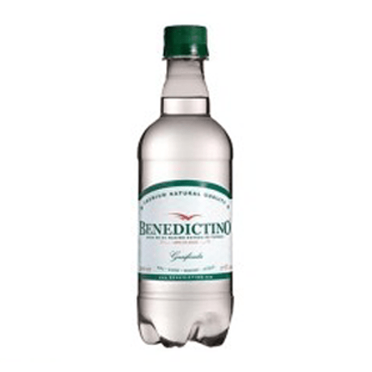 Agua Mineral Pet C/Gas 500 Ml Benedictino display 12 unids.