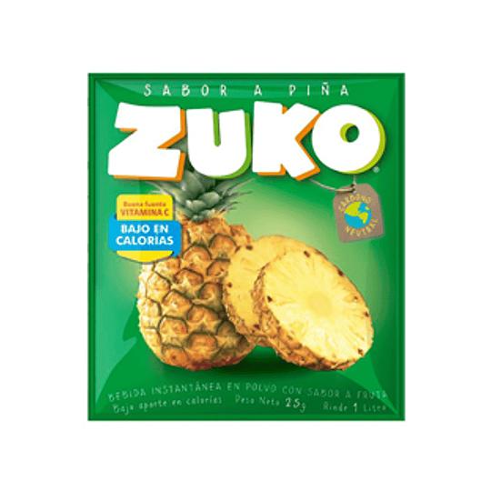 Jugo en Polvo Piña Sobre de 25 Gr Zuko