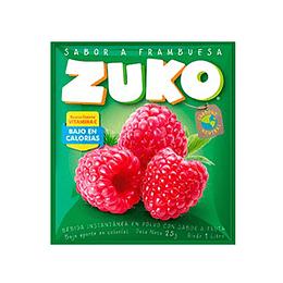 Jugo en Polvo Frambuesa Sobre de 25 Gr Zuko