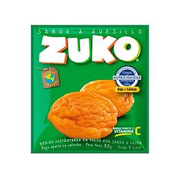 Jugo en Polvo Huesillo Sobre de 25 Gr Zuko